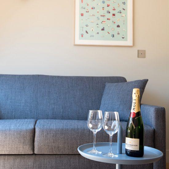appartement 3 chambres salon champagne etoile