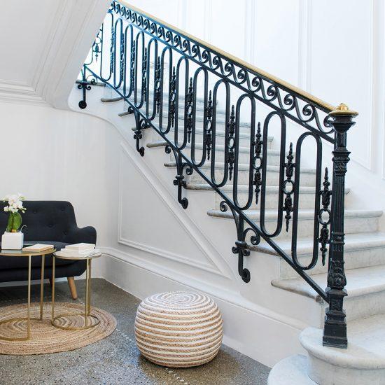 appartement 3 chambres escalier etoile