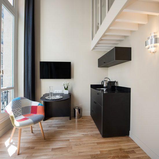 appartement 3 chambres salon face etoile